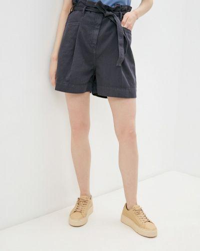 Серые джинсовые шорты Sisley