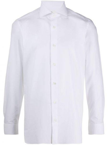 Koszula z długim rękawem klasyczna prosto Borrelli