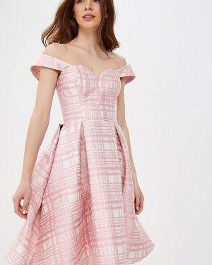 Вечернее платье розовое Fashion.love.story