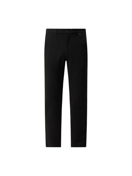 Czarne сhinosy z wiskozy Ck Calvin Klein