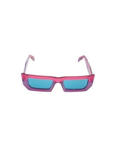 Fioletowe okulary Retrosuperfuture