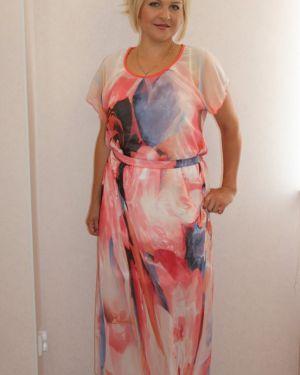 Платье розовое инсантрик