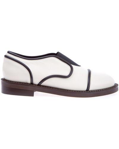 Кожаные ботинки на каблуке Marni