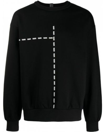 Черный свитер узкого кроя Wwwm