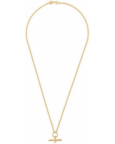 Ожерелье золотой желтый Northskull