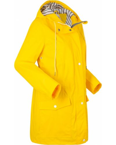 Желтая куртка на молнии двусторонняя Bonprix