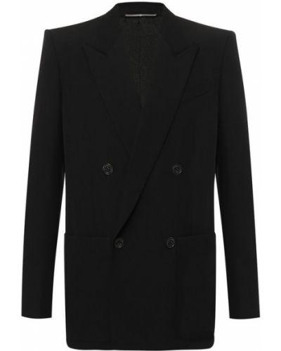 Пиджак двубортный шерстяной Givenchy