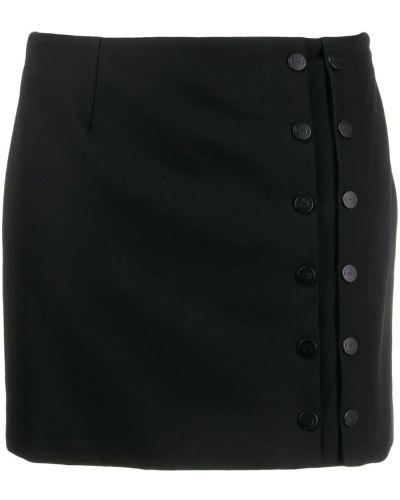 Черная прямая юбка мини Artica Arbox