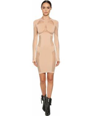 Платье мини макси сетчатое Unravel