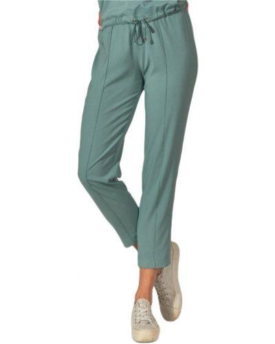 Zielone spodnie khaki Figl