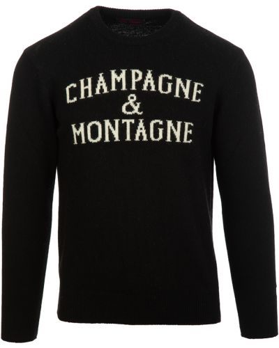 Czarny sweter Mc2 Saint Barth