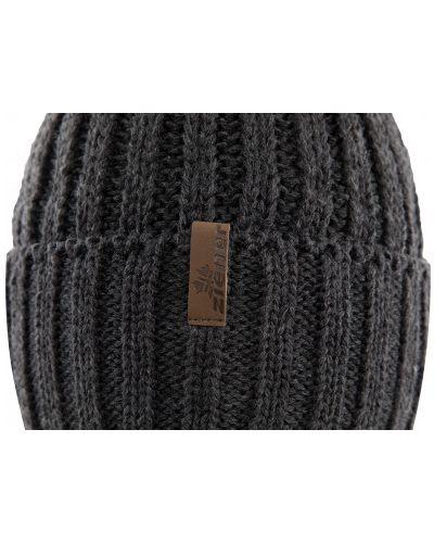 Вязаная шапка - серая Ziener