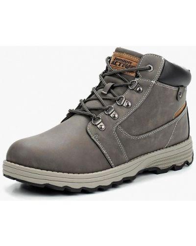 Ботинки осенние кожаные высокие Zenden Active