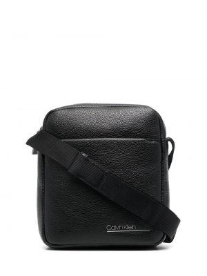 Черная косметичка с подкладкой Calvin Klein