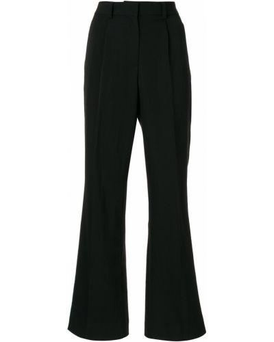 Черные расклешенные брюки Wynn Hamlyn