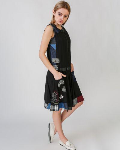 Платье бохо с вышивкой Desigual