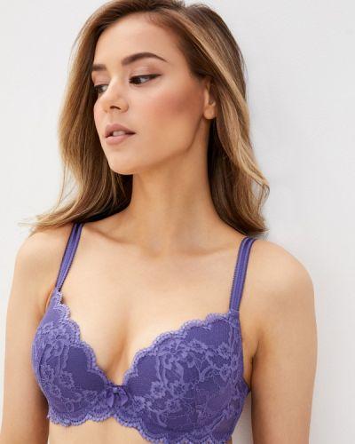Фиолетовый бюстгальтер пуш ап с пуш-ап Primaverina