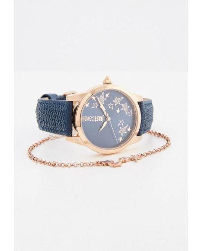 Синие кварцевые часы Just Cavalli