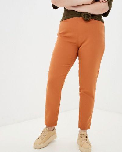 Оранжевые весенние брюки Prewoman