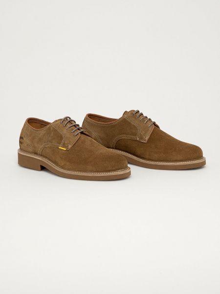 Замшевые туфли Camel Active