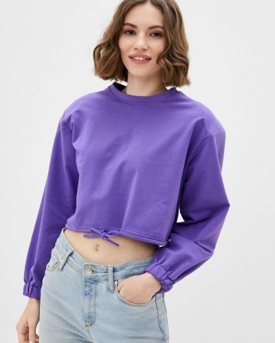 Фиолетовый свитшот By Swan