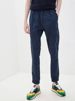 Синие брюки карго Antony Morato