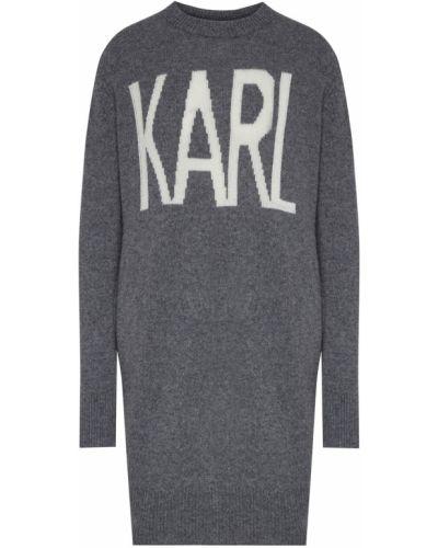 Свитер кашемировый с надписью Karl Lagerfeld