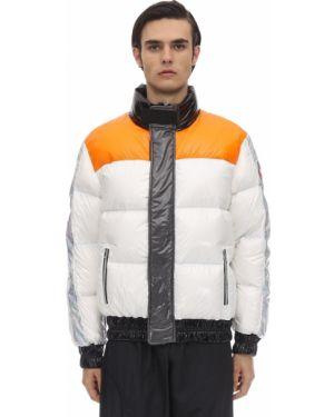 Biała kurtka z nylonu Colmar Originals