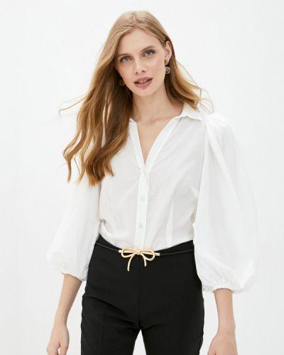 С рукавами белая блузка с длинным рукавом Rinascimento