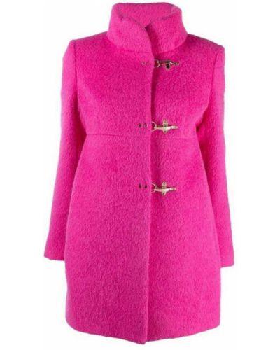 Różowy płaszcz Fay