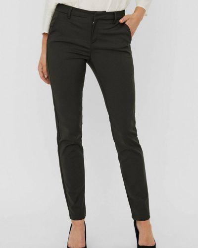 Повседневные серые брюки Vero Moda