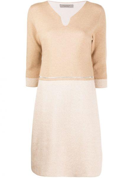 Тонкое шерстяное платье с вырезом D.exterior