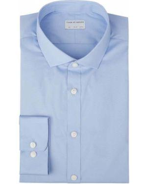 Niebieska koszula bawełniana do pracy Tiger Of Sweden