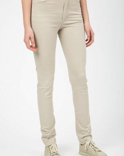Зауженные джинсы - бежевые Madlen
