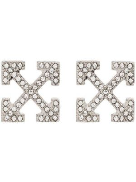 Kolczyki ze sztyftem kolczyki pierścionki srebrne Off-white