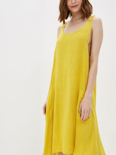 Платье - желтое Baon