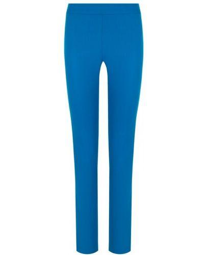 Синие брюки прямые La Perla