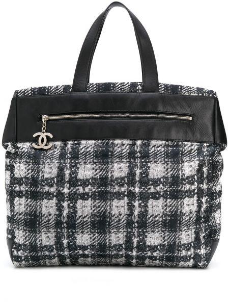 Сумка-тоут черная каркасная Chanel Pre-owned