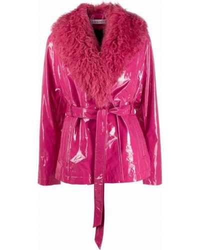 Розовая короткая куртка Saks Potts