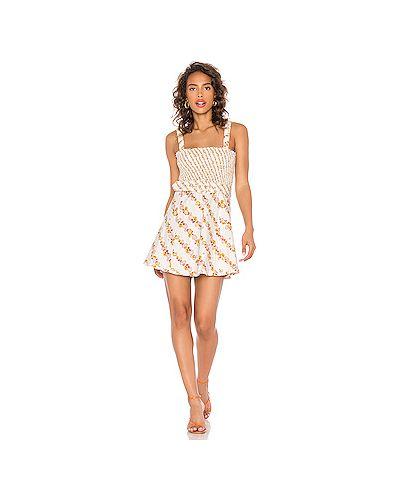 Платье из вискозы For Love & Lemons
