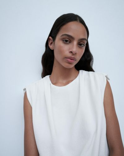 Платье - белое Zara