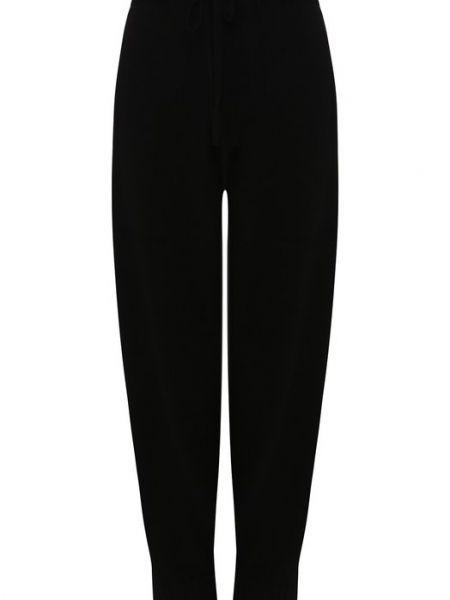 Кашемировые черные брюки Tegin