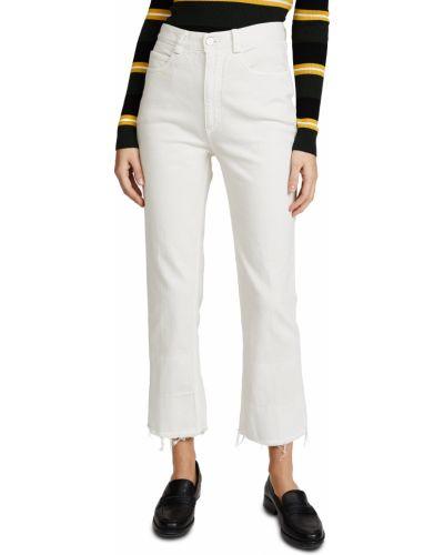 Джинсовые прямые джинсы - белые Rachel Comey