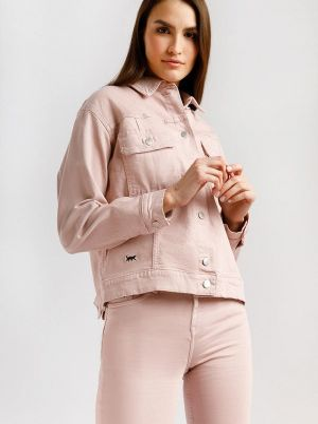 Джинсовая куртка демисезонная весенняя Finn Flare