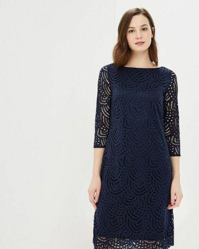 Синее платье осеннее Wallis