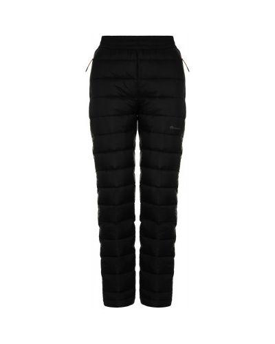 Прямые серые теплые брюки с перьями Outventure