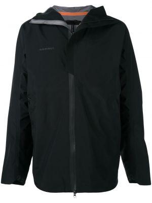 Куртка с капюшоном - черная Mammut