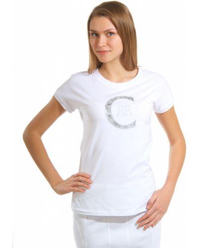 Футболка белая Cerruti 18crr81