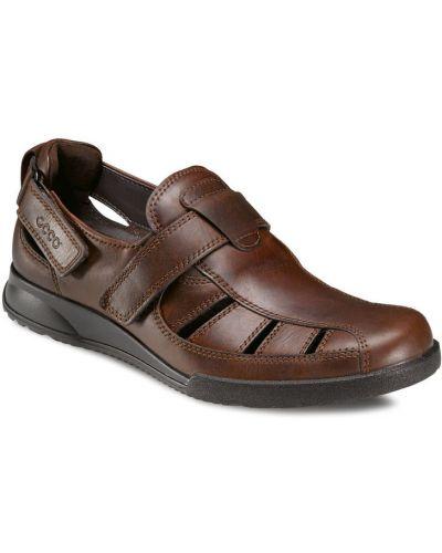 Спортивные сандалии на липучках повседневный Ecco