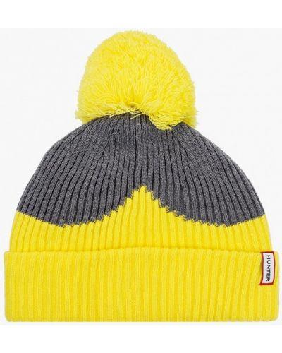 Желтая шапка Hunter